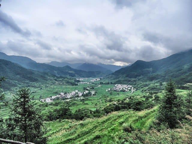 The viewpoint at Jiangling, Jiangxi Province_Snapseed