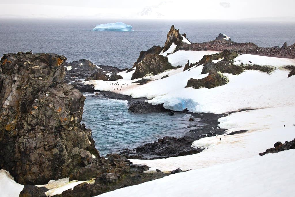 Exploring the coastline of Antarctica