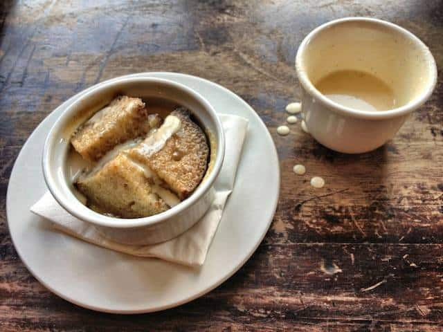 Bread and butter pudding - Eating Tour London