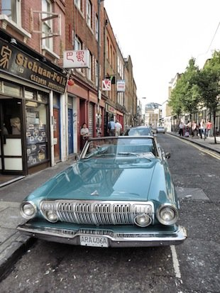 Retro Car Brick Lane