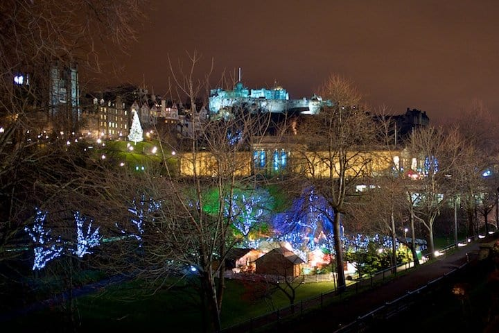 Spending Christmas in Edinburgh