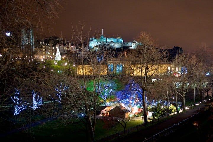 Spending Christmas in Edinburgh