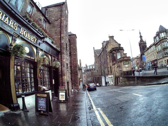 Edinburgh Autographer