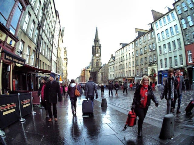 Edinburgh crowds