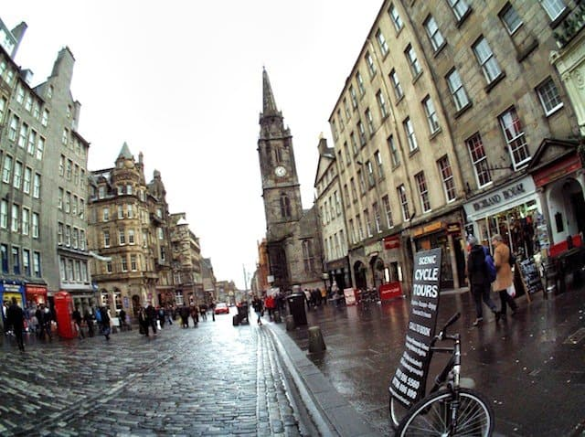In Autographer pictures: a wintery Edinburgh Global Grasshopper