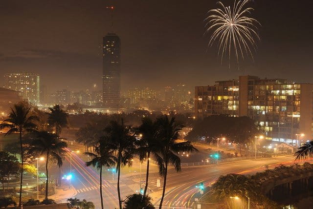 Honolulu new years eve