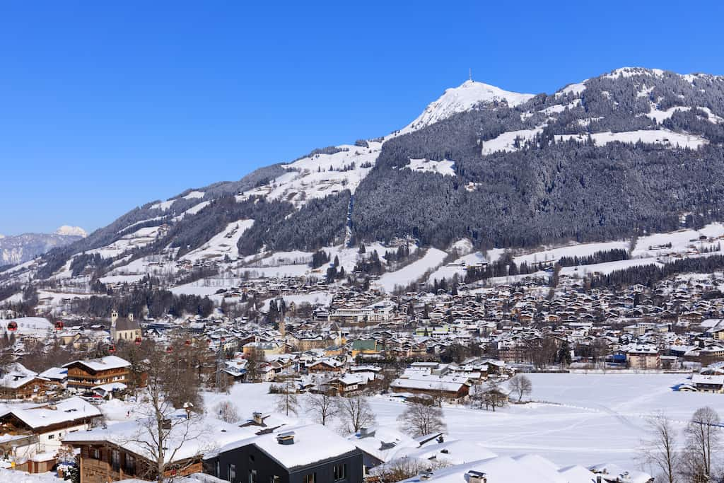 Kitzbuhel - best ski party resorts