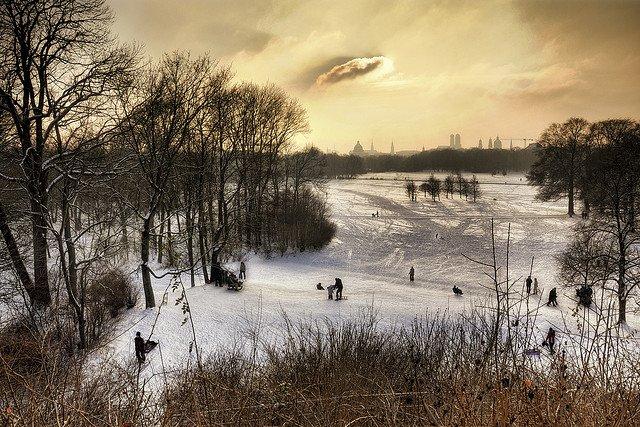 Spotlight: Munich in the winter Global Grasshopper