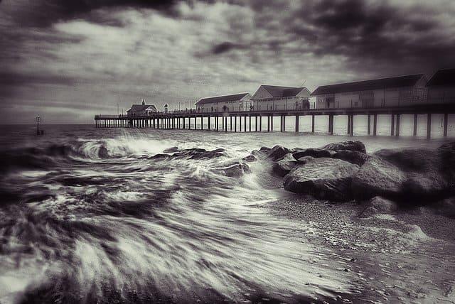 Southwold Beach UK