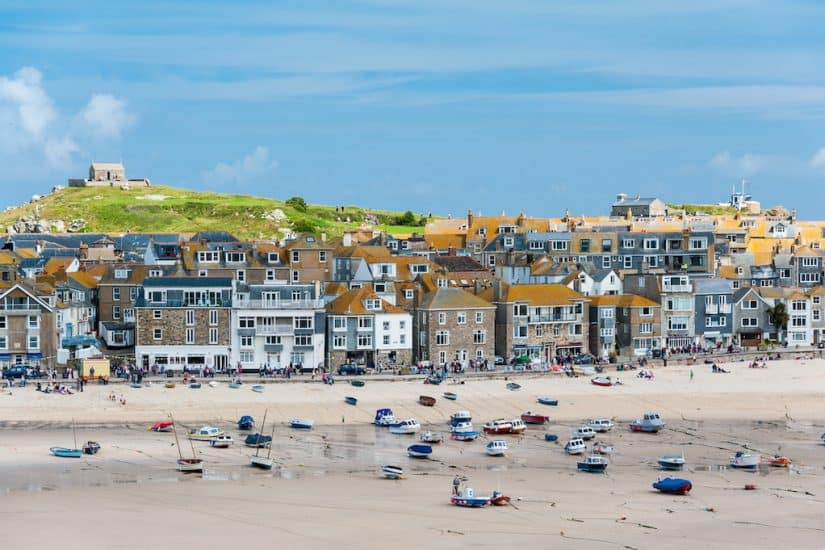 St Ives beach Cornwall