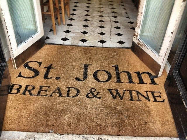 St John Bread and Wine London