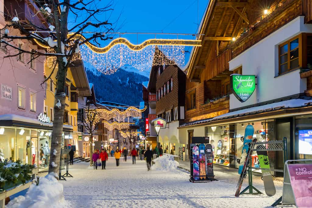 St. Anton -Europe's best ski resorts