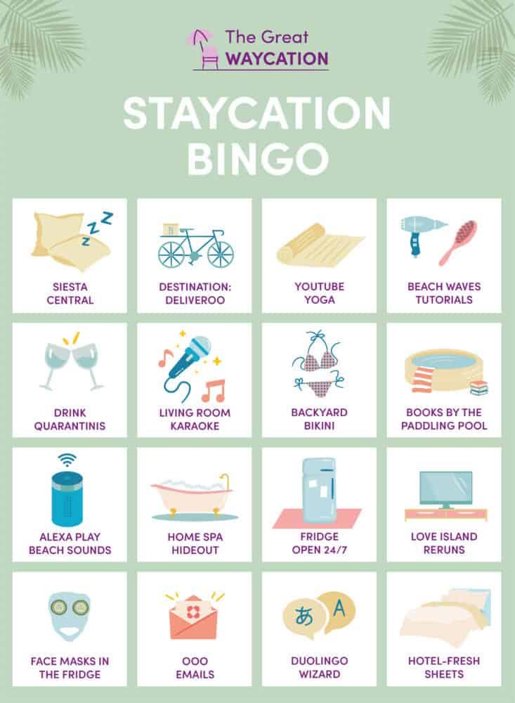 Staycation Bingo