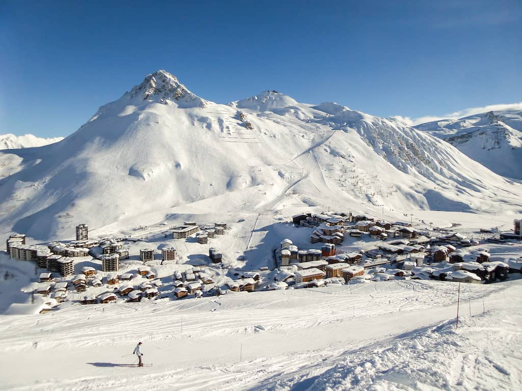 Tignes ski resort France