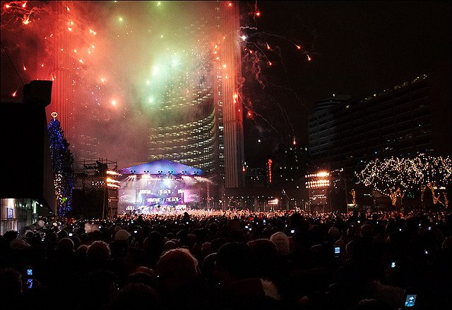 Toronto New Years eve