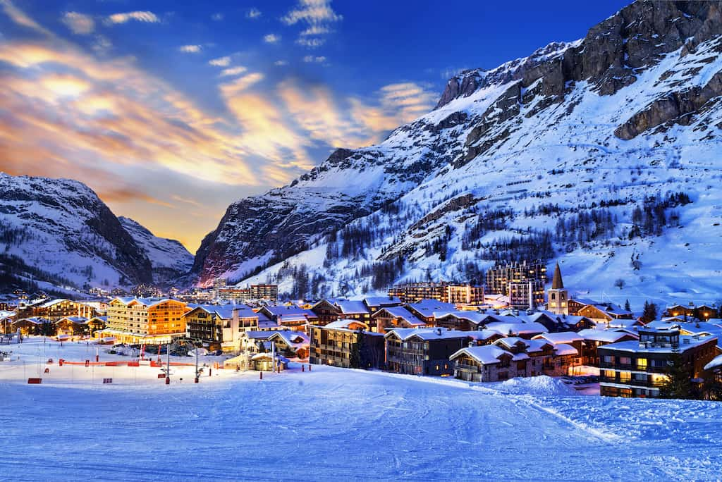 Val d'Isere - great party resorts