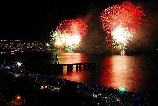 Valparaíso new years eve