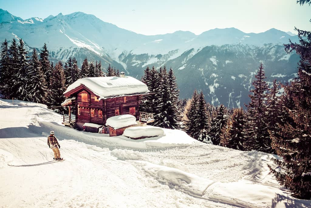 Verbier - fantastic ski party resorts