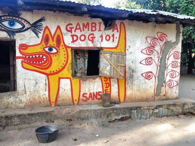 Art project Gambia