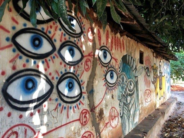 Cool street art Gambia