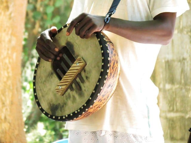 Drumming in Gambia