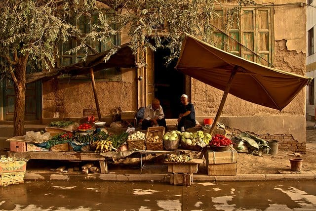 Beautiful places: the Xinjiang province, China Global Grasshopper