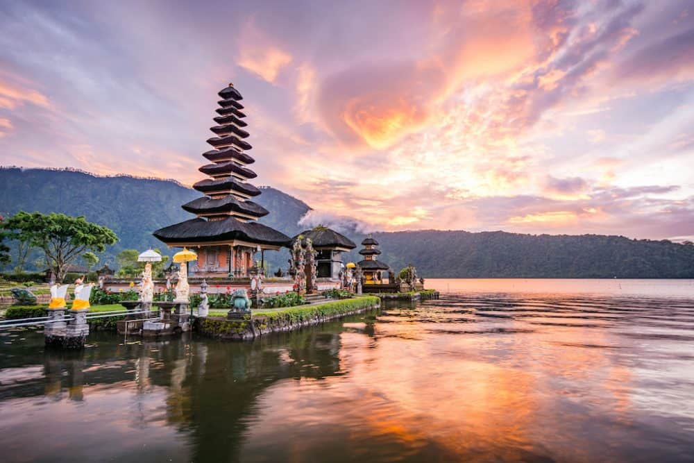 A beautiful temple in Bali