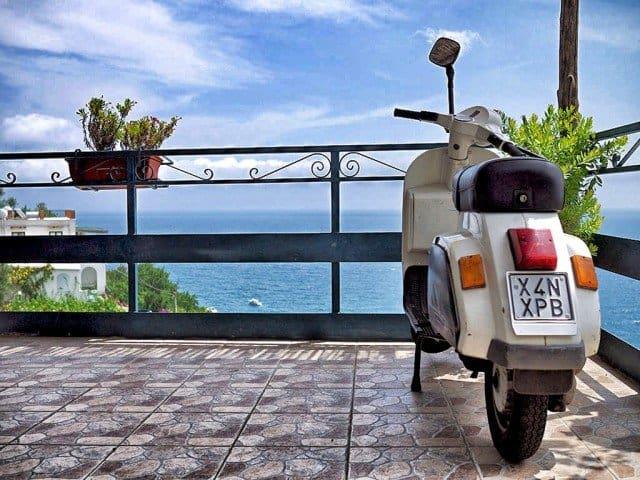 Scooter Amalfi Coast