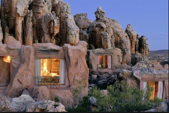 Unusual hotels Cape Town