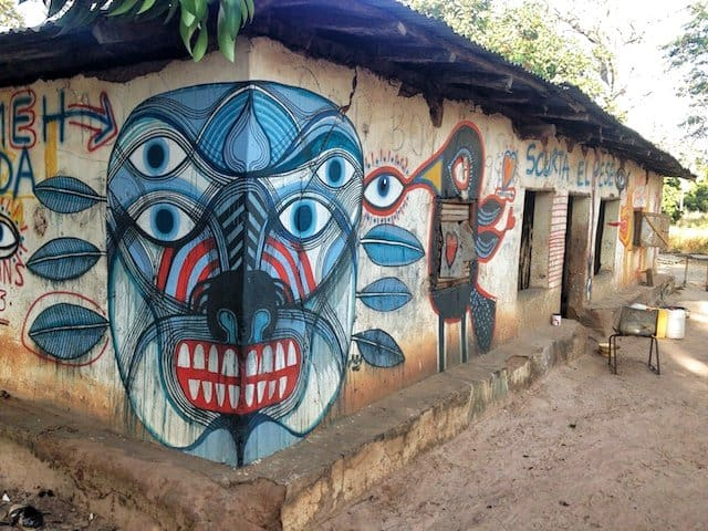 The Gambia: the Wide Open Walls Art Project Global Grasshopper