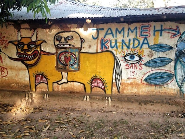 Wide Open Walls Project Gambia