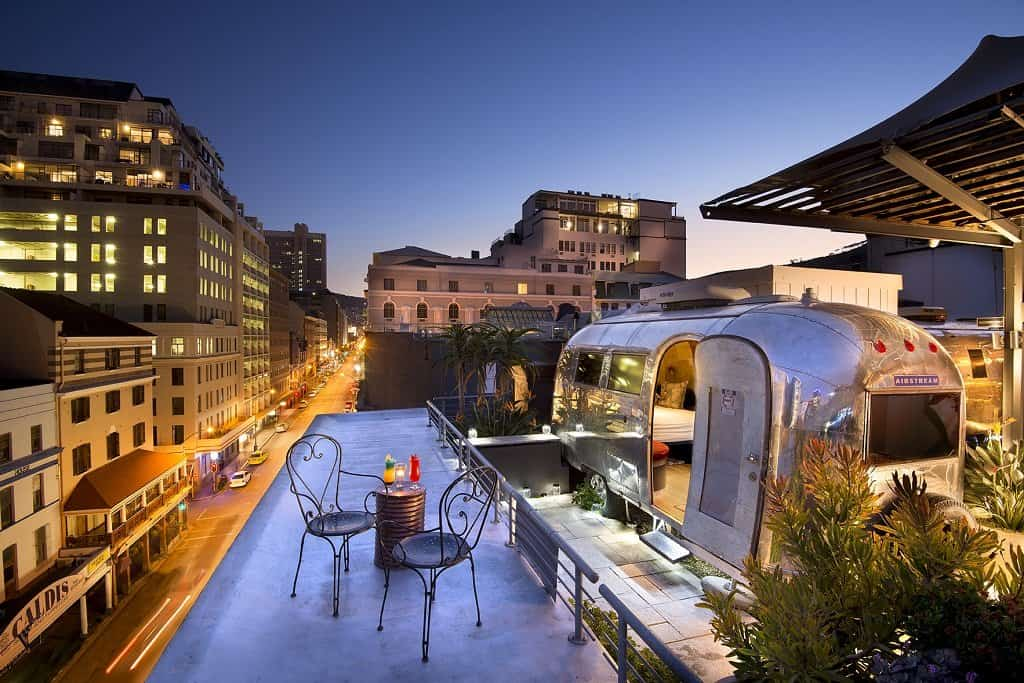 Ccool and unusual hotels in Cape Town
