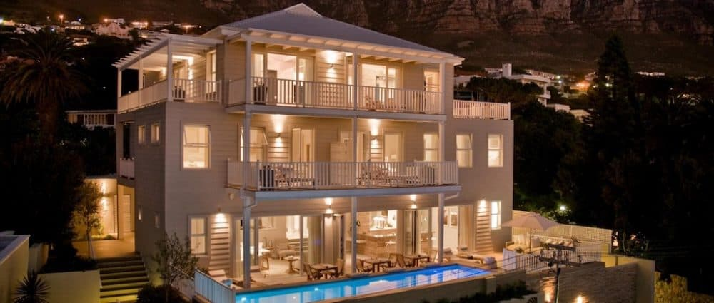 Swish boutique hotel in Cape Town