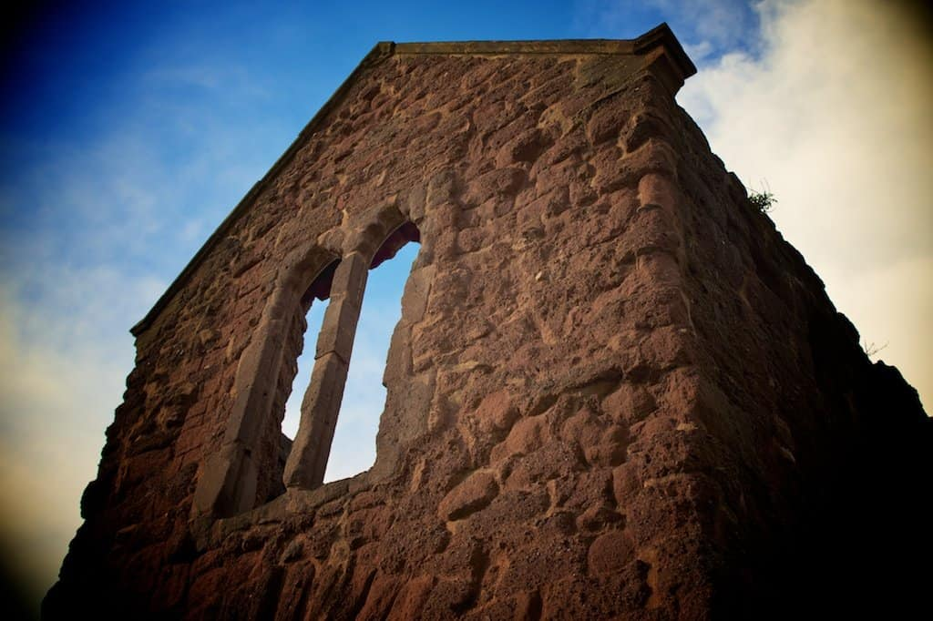 Exeter ruins