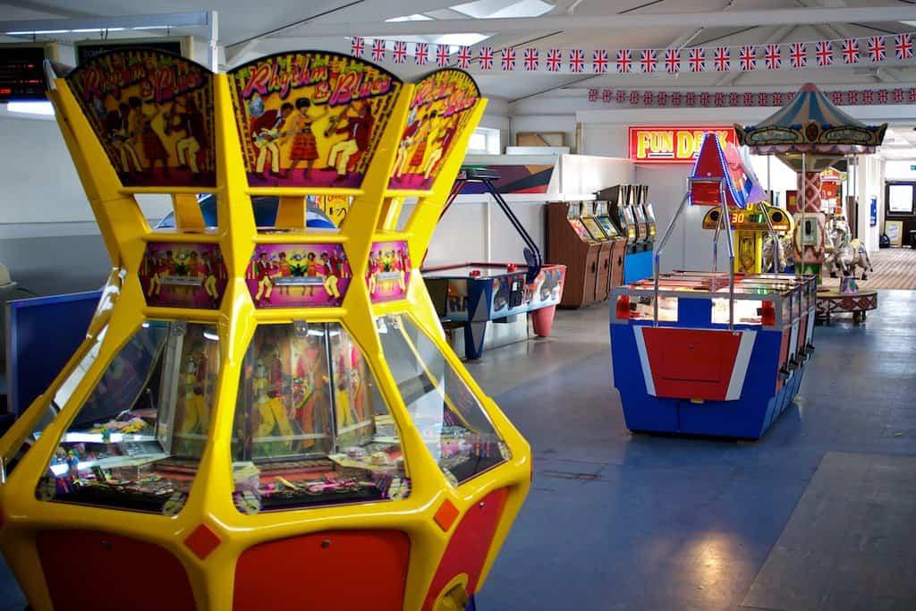 Pier arcades