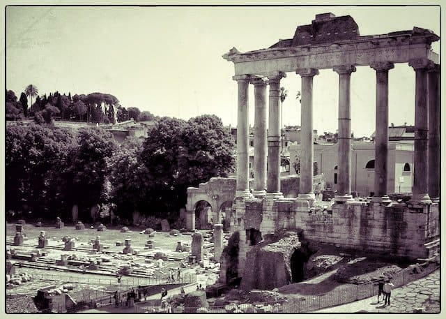 Beautiful city of Rome