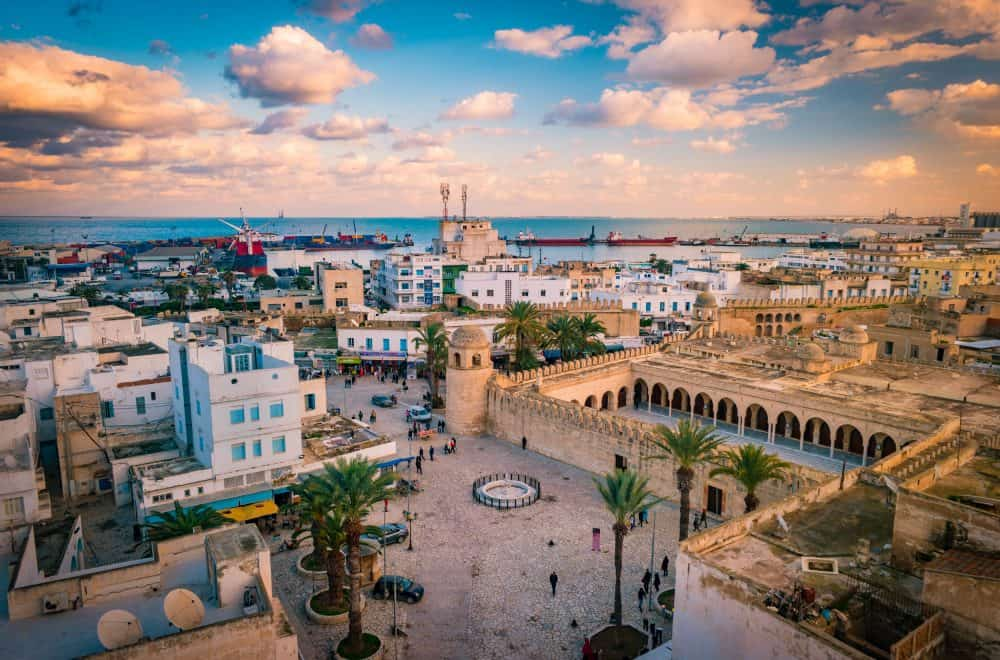 Sousse - a beautiful city in Tunisia