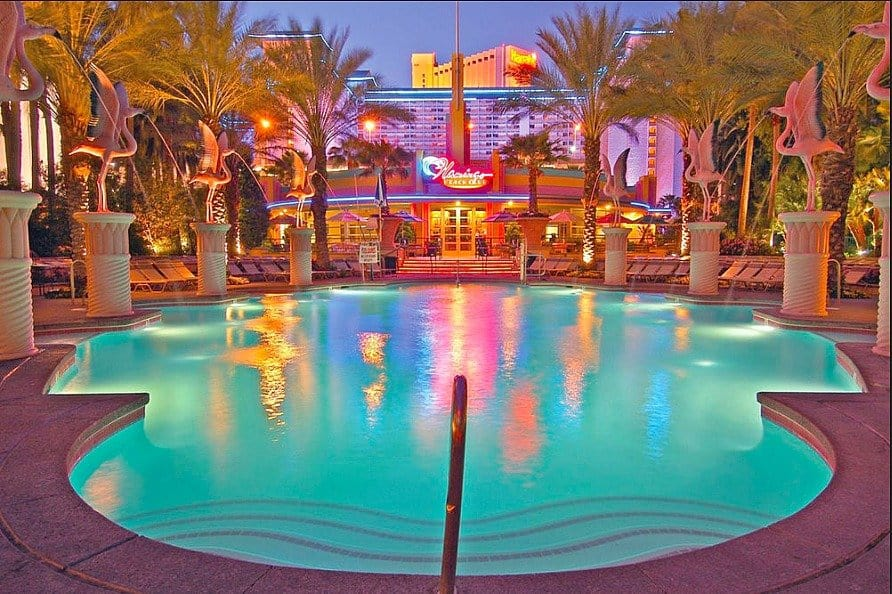Flamingo Old School Kitsch Top 12 Cool And Unusual Hotels In Las Vegas Global Grhopper