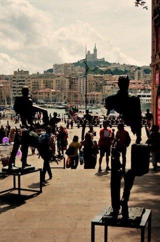 Marseille tourists
