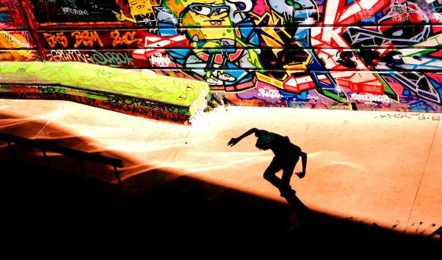 Marseille skate boarding