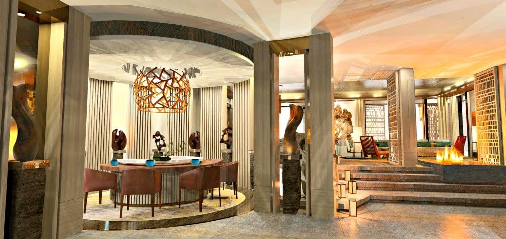 Nobu Hotel at Caesar's Palace - Eastern-inspired chic