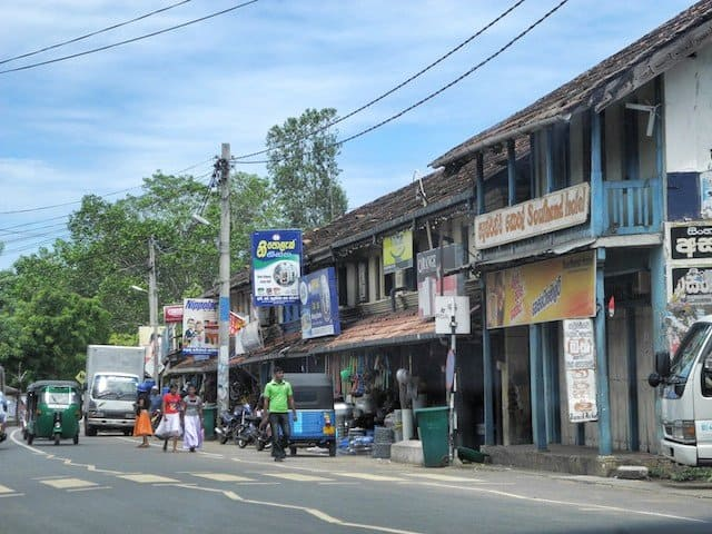 Sri Lanka street