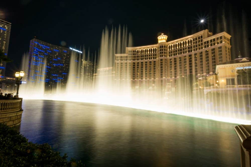 The Bellagio - Italian themed Las Vegas hotel