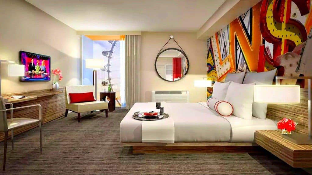 Top 12 cool and unusual hotels in las vegas boutique for Top unique hotels