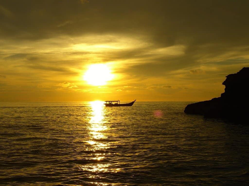 Langkawi, Malaysia.Serene Fishing