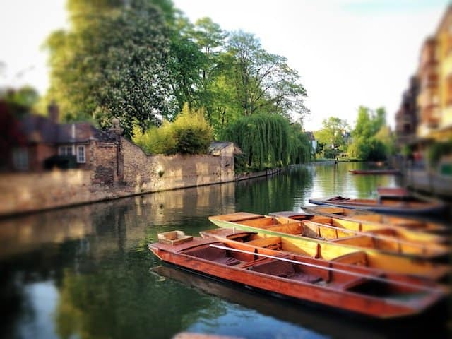 Cambridge-Punting-Boats