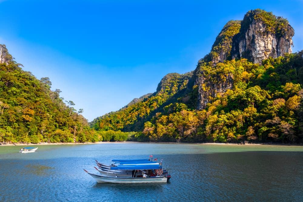 Langkawi - beauty spots in Malaysia