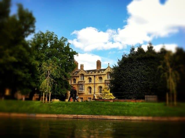 Pretty Cambridge Building