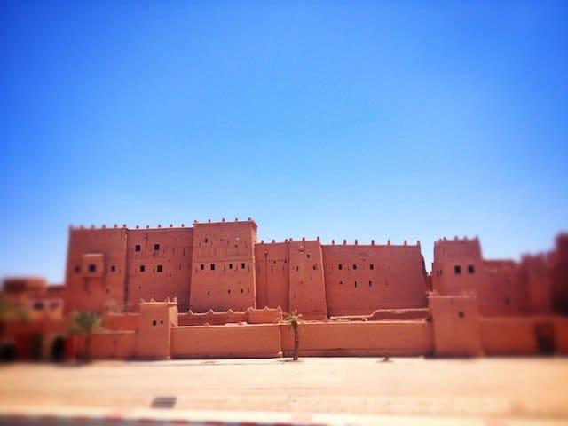 Kasbah of Taourirt,Ouarzazate