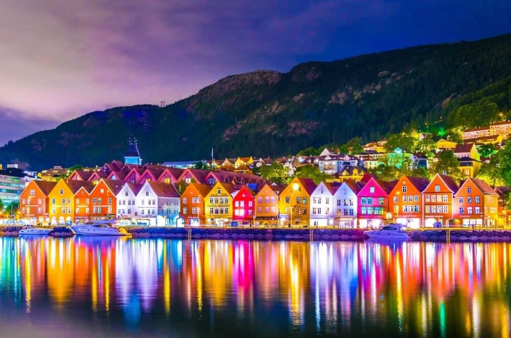 Bergen - most stunning places to visit in Norway